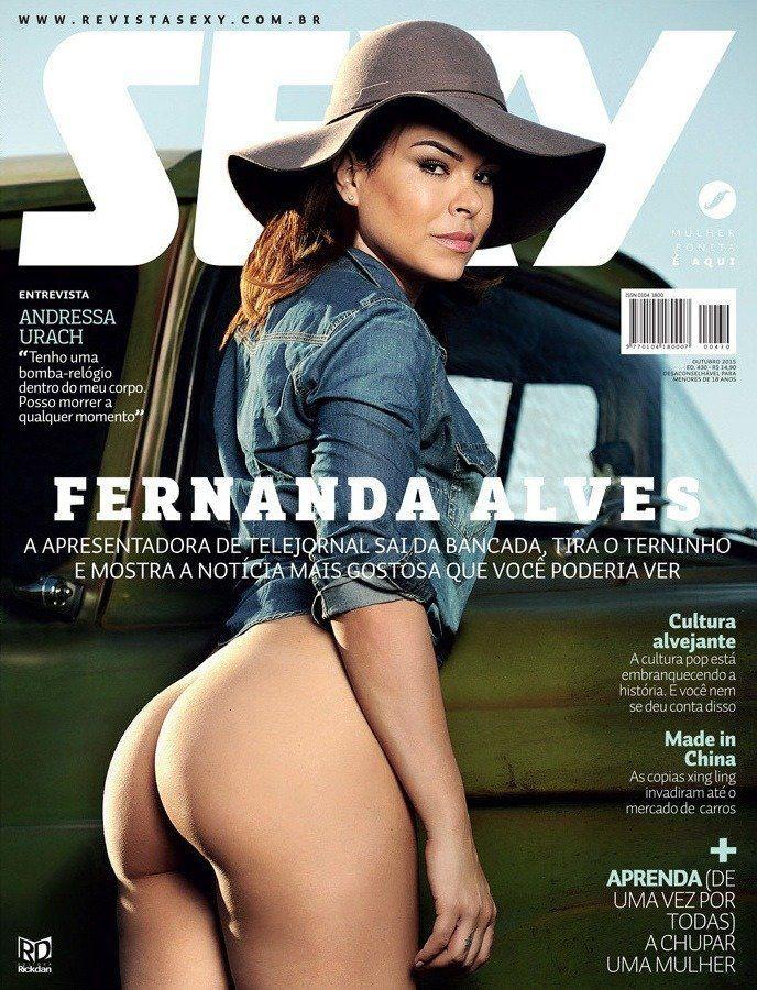 Revista Sexy Outubro 2015 – Fernanda Alves