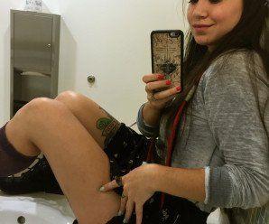 Amadora moreninha tatuda gostosa nua