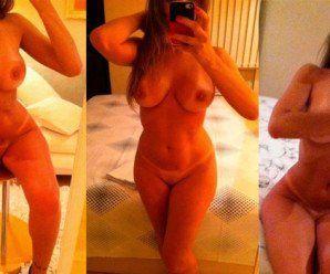 Garota de programa peituda em fotos íntimas