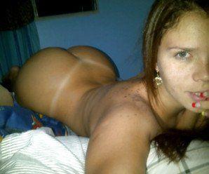 Nudes peladinha na cama