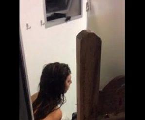 iCaiu na net vídeo da prima saindo do banho