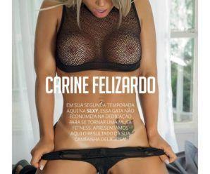 Carine Felizardo nua pra Revista Sexy de outubro 2016
