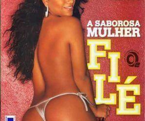 Mulher File nua pra Revista Playboy